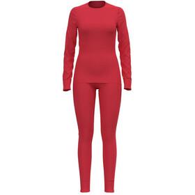 Odlo Active Warm Plus Set, rood
